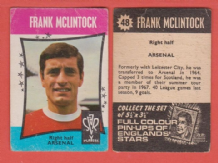 Arsenal Frank McLintock Scotland 48
